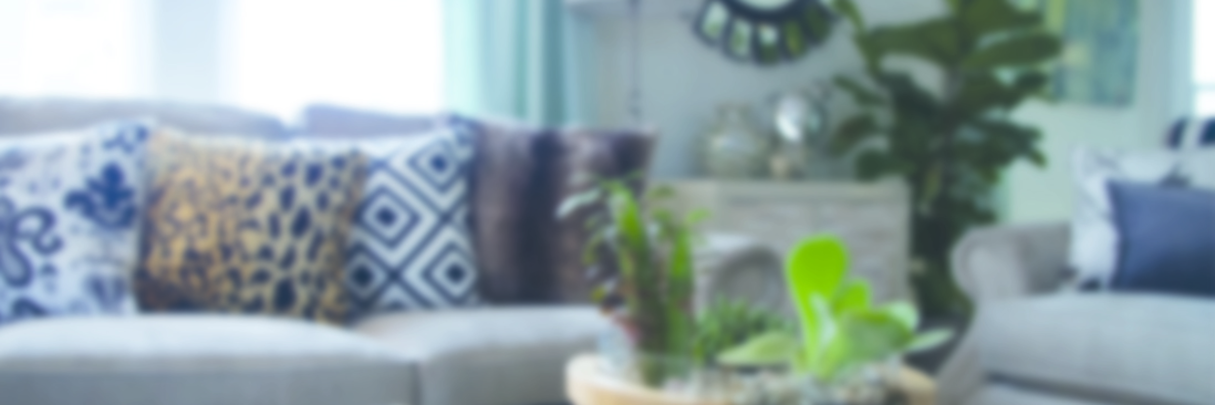 Blurred Living Room