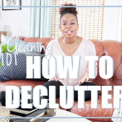 Spring Cleaning 101: How to Declutter