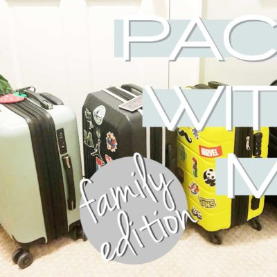 Packing For a Family
